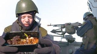 Testar att leva en dag som en svensk militär