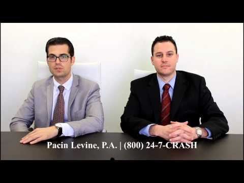 Personal Injury and Car Accident Attorney Florida - (800) 247-2727 - Pacin Levine, P.A.