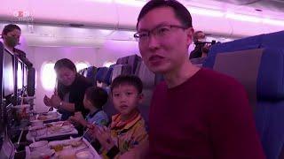 Singapore, niente voli a causa del coronavirus: l'aereo diventa un ristorante