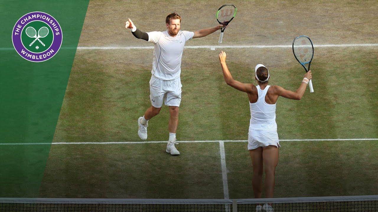 Peya and Melichar crowned Wimbledon mixed doubles champions | Wimbledon 2018