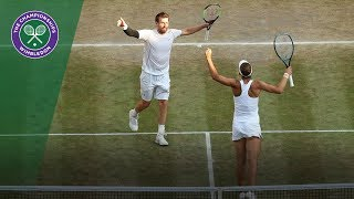 Peya and Melichar crowned Wimbledon mixed doubles champions | Wimbledon 2018
