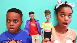 Greedy Granny Turn Shiloh and Shasha INTO TOYS!? - Onyx Kids