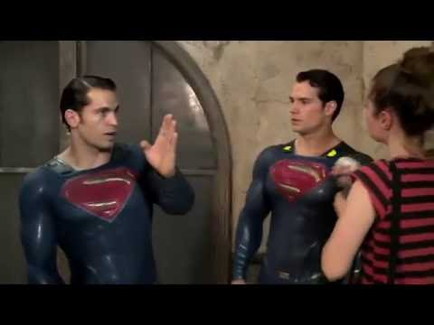 Batman V Superman: Behind The Scenes Superman Stunts