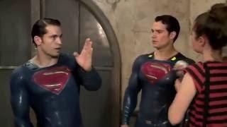 Batman V Superman: Behind The Scenes Superman Stunts