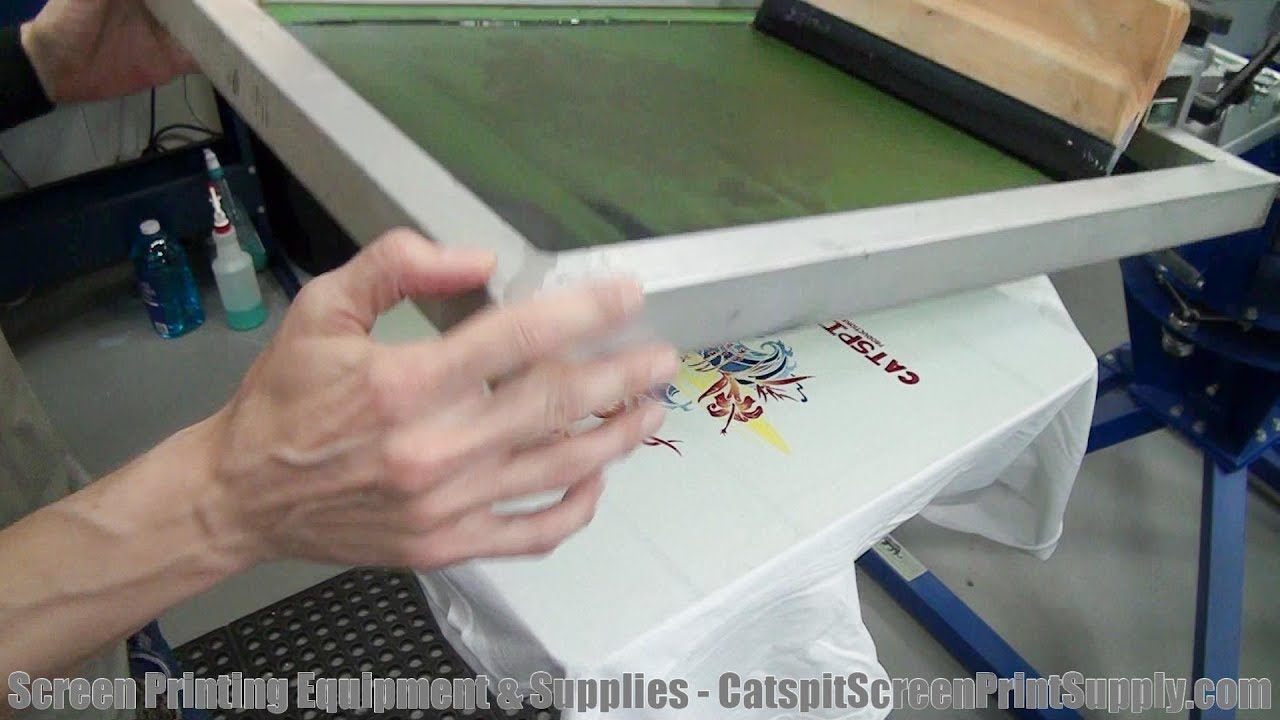 How To Screen Print Tee Shirts What Is The Key Or K Printer