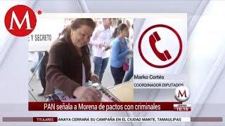 Entrevista a Marko Cortes: PAN señala a Morena de pactos criminales
