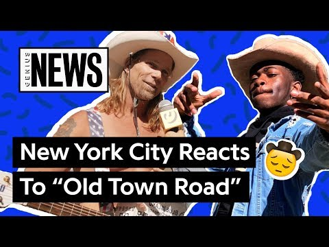 """New York City Reacts To Lil Nas X's """"Old Town Road"""" 