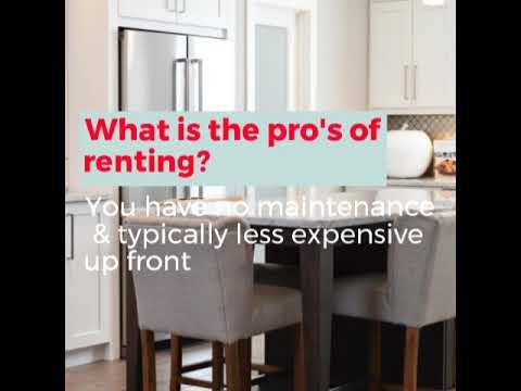 4 Fun Facts - Rent vs. Buy