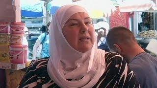 Şam'ın merkezinde hayat normal