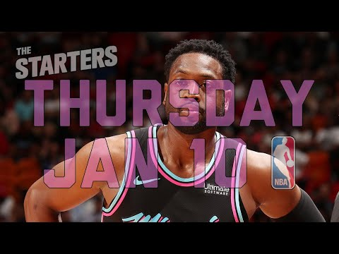 NBA Daily Show: Jan. 10 - The Starters
