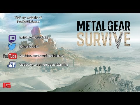 Trying out the Metal Gear Survive Beta!