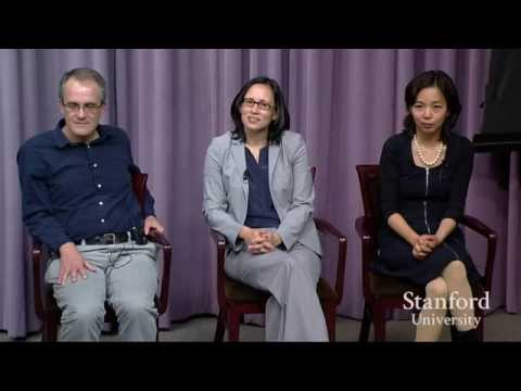 Stanford Engineers discuss research during Q&A Session