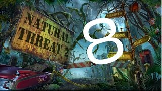 WALKTHROUGH - NATURAL THREAT 2 -  EP. 8 FIGHTING FIRE-BREATHING PLANT
