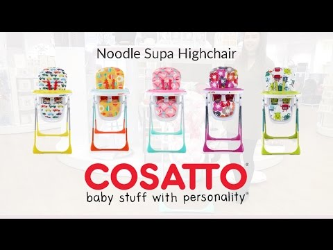 Cosatto Noodle Supa Highchair Store Demo – Direct2Mum