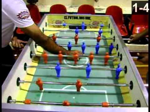 4arto torneo nacional de futbolito de mesa individual