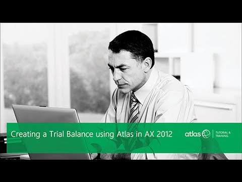 Creating a Trial Balance using Atlas Free-Format (Part 1)