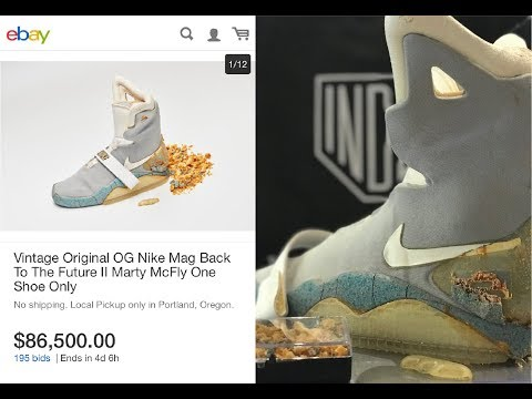 Interview:  $90K OG Nike Mag Ebay Auction with Shoezeum