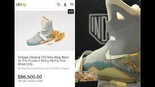 Interview:  $90K OG Nike Mag Ebay Auction with Shoezeum