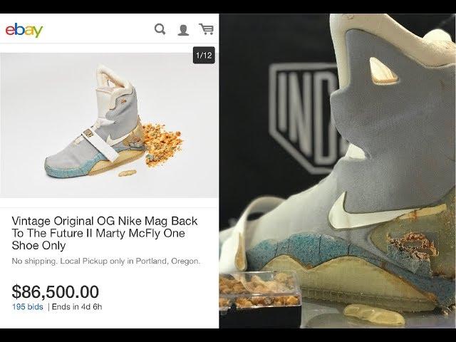 ef67072aa0d Original Nike Mag Sells for  92