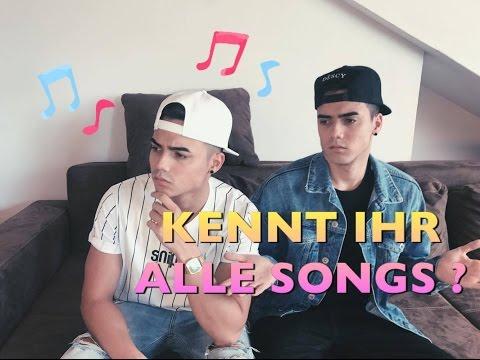 WIE HEISST DER SONG ?  | GUESS THAT SONG CHALLENGE