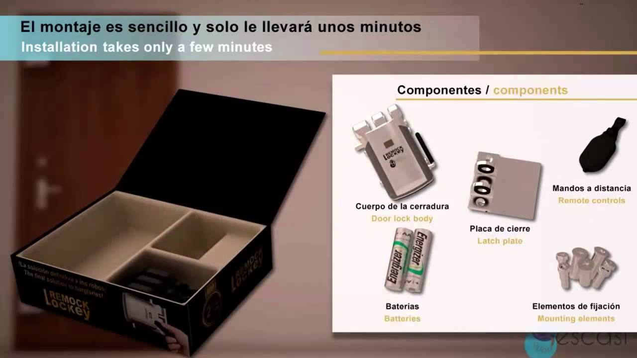 Instalacion Remock Lockey Youtube