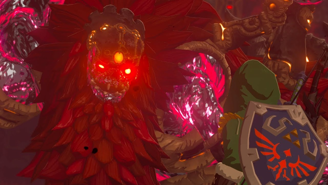 How To Beat Calamity Ganon Zelda Botw
