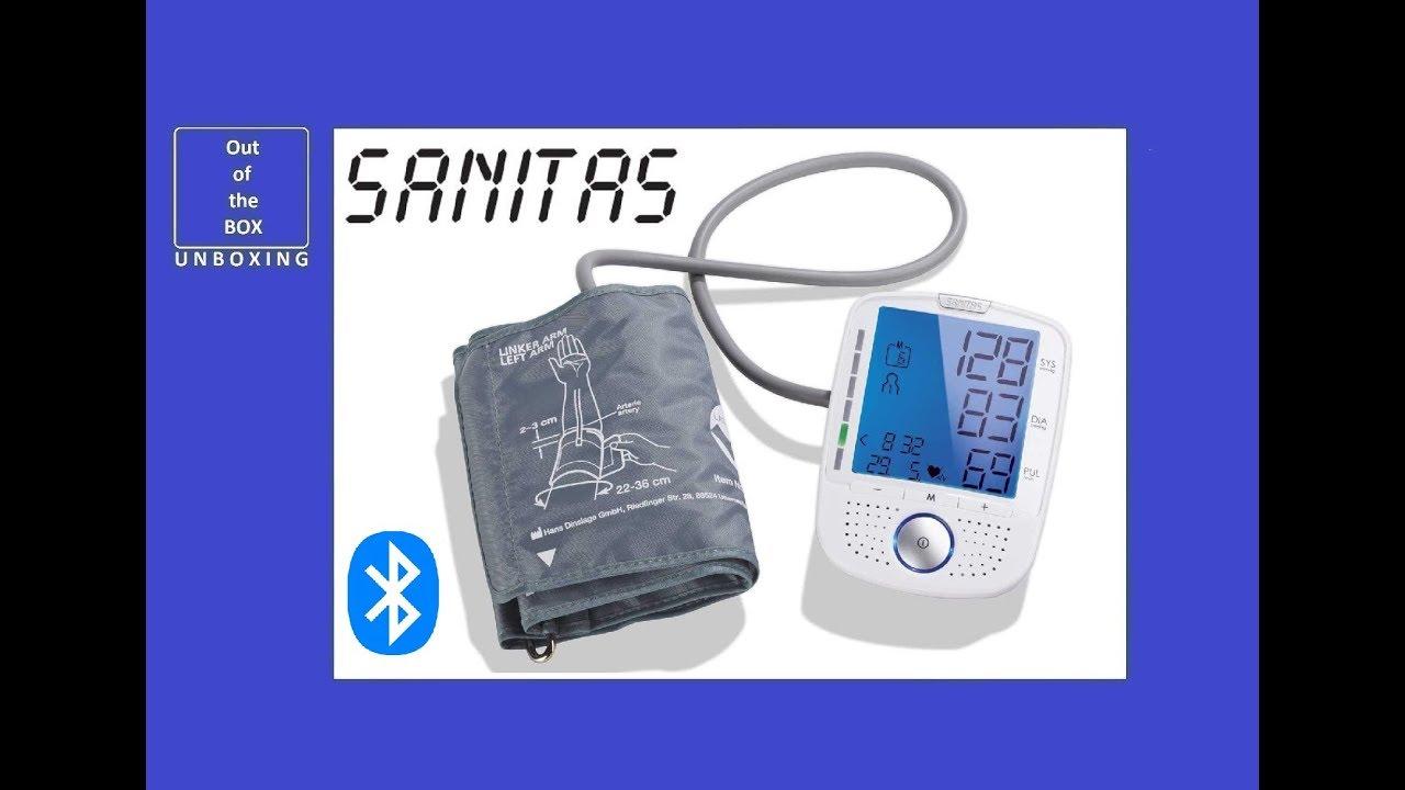 sanitas blodtrycksmätare test