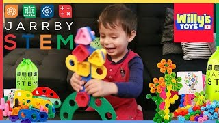 Jarrby Toddler Toys Educational STEM Kids Toys - Flowers and Bolts - Willy
