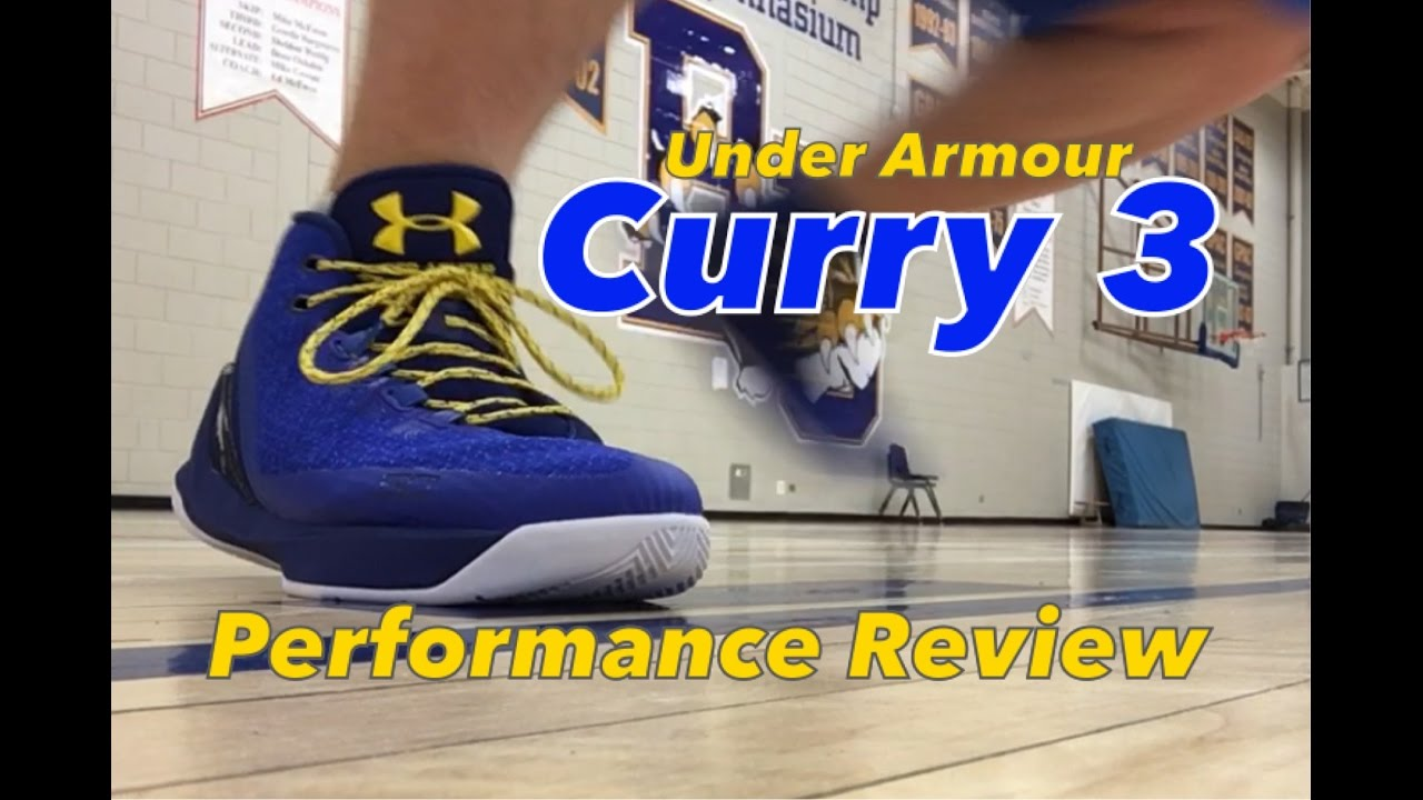 cf9c4bbba8e4 Under Armour Curry 3 Performance Test And Full Review - YouTube