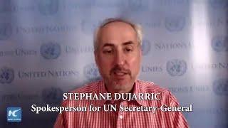 UN suspends peacekeeper deployments until June 30: spokesman