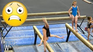 Balance Beam Tragedy | Tough Gymnast | Whitney Bjerken