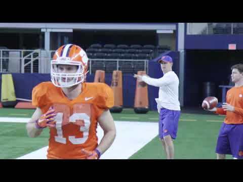 Clemson Practice at AT&T Stadium on Christmas Day