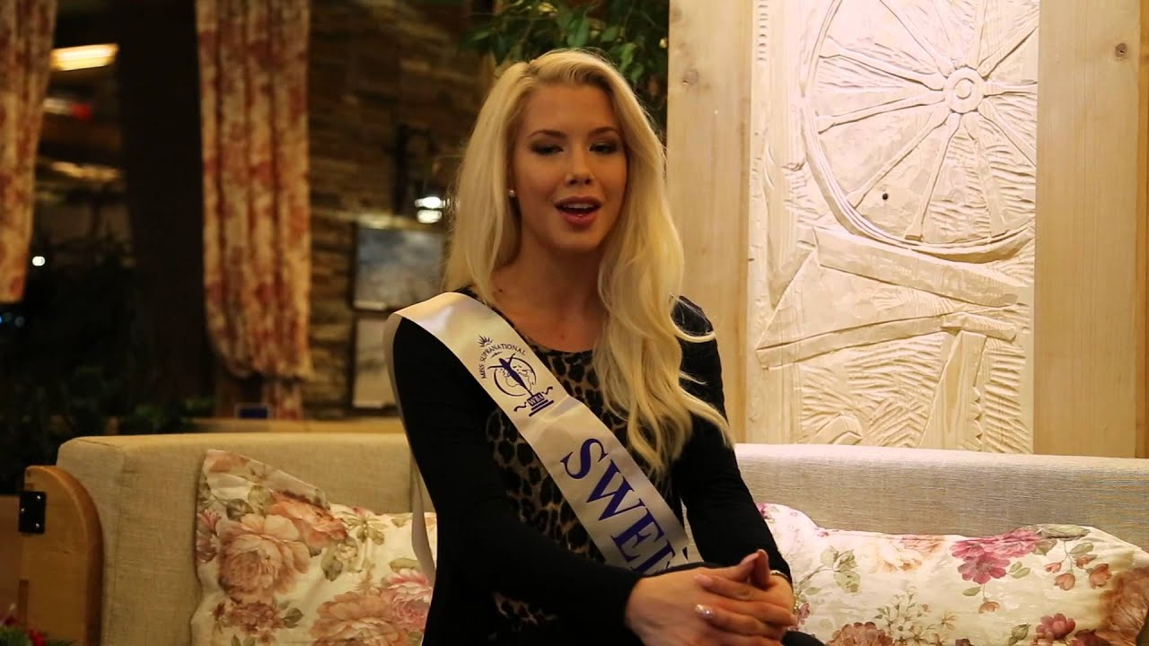 Miss Supranational 2014 - Miss Sweden, Ida Ovmar - YouTube