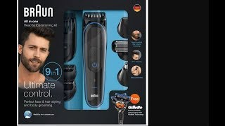 BRAUN TRIMMER MGK30 UNBOXING|REVIEW|DETAIL