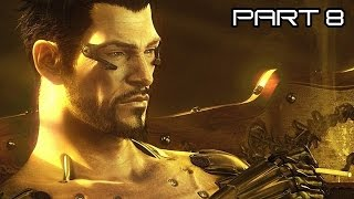 Let's Play Deus Ex Mankind Divided Deutsch #08 - Adam Jensen in Therapie
