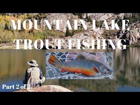 High Altitude Mountain Brook Trout Fishing Lake Blanche Salt Lake City Utah Part 2 Of 2