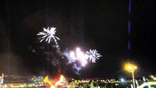 Capital Ex Fireworks Atop Ferris Wheel July 25, 2011 Thumbnail