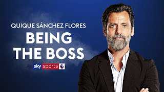 Which Watford player is most likely to become a manager? | Quique Sánchez Flores | Being The Boss