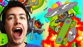 BRNAD *NEW* MONKEY ACE & HELI TOWERS! - New Bloons Tower Defense Battles Fun!