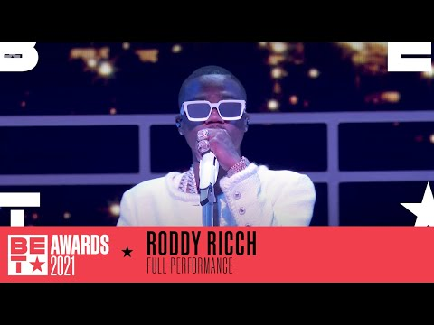 Watch Roddy Ricch's Live Performance Of 'Late at Night'   BET Awards 2021