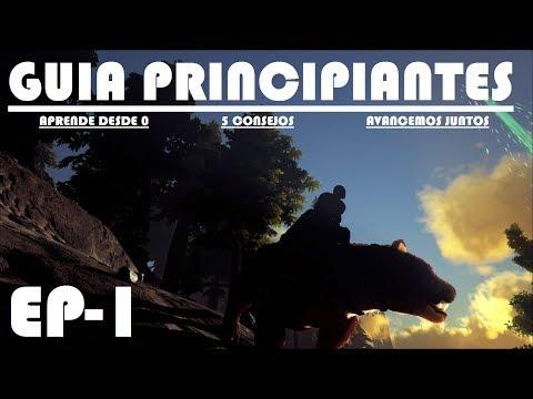 ARK GUÍA PARA PRINCIPIANTES - 5 CONSEJOS PARA EMPEZAR - ESCOGIENDO NUESTRO SITIO #1