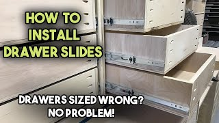 How to Install Drawer Slides