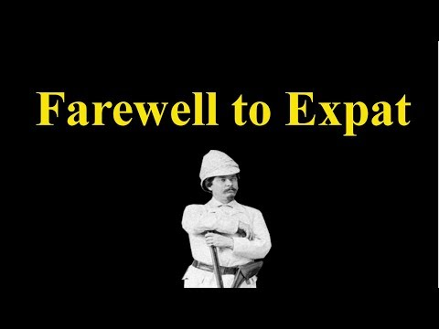An open letter to Reactionary Expat (Farewell To Expat)