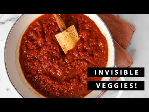 Hidden Veggie Pasta Sauce for Picky Eaters