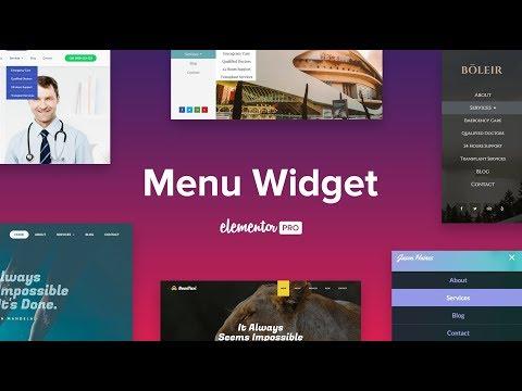 Introducing Nav Menu Widget The Most Powerful Menu Builder For
