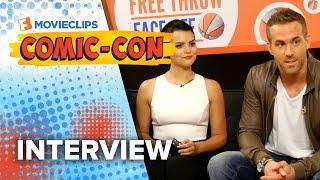 'Deadpool' Cast Exclusive Interview - Comic-Con (2015) HD