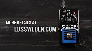 EBS MultiComp Blue Label compressor pedal