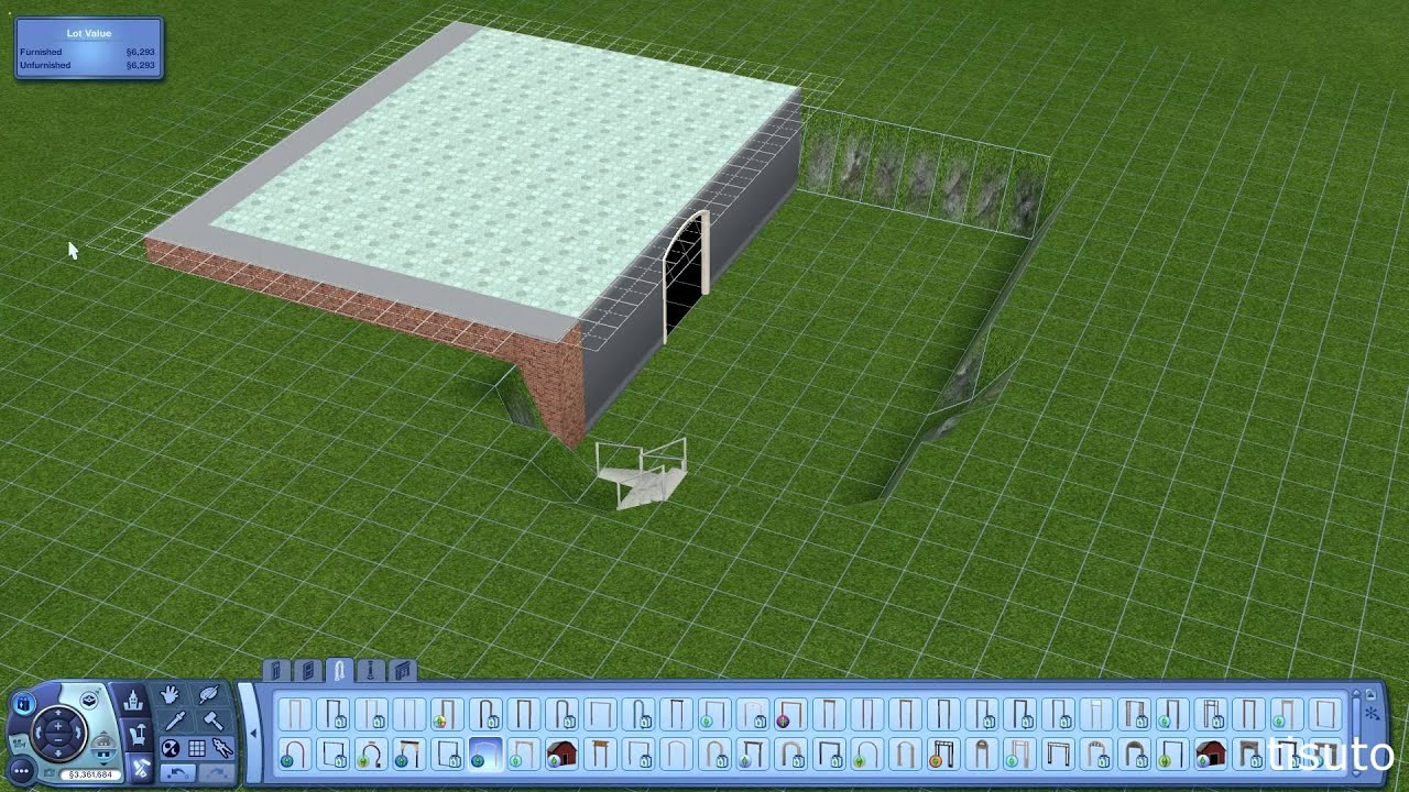 The Sims 3 Design Tips Tricks Build Inside A