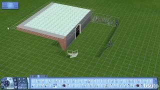 The Sims 3 Design Tips & Tricks - Build Inside a Foundation