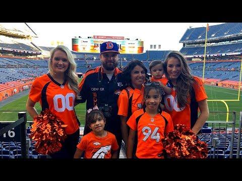 Meeting Denver Broncos Players and QB Trevor Siemian